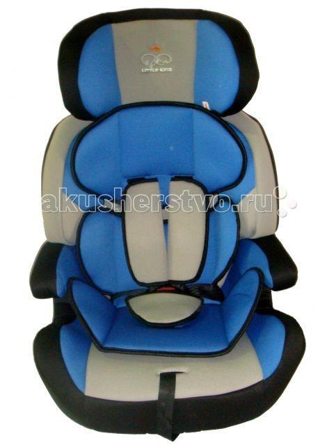 Автокресло Little King DSCL01ADSCL01AУниверсальное кресло предназначено для детей возрастной группы от 9 месяцев до 12 лет и весом от 9 до 36 кг. Группа I: 9 – 18 кг, Группа II: 15 – 25 кг, Группа III 22 – 36 кг  Характеристики: съемные пятиточечные ремни безопасности имеют мягкие накладки подголовник автокресла имеет боковую защиту и регулируется по росту ребенка мягкий съемный вкладыш спинку автокресла можно снять и перевозить ребенка на подушке-бустере обивку можно снимать и стирать  Автокресло отвечает европейскому стандарту качества ЕСЕ R44/04<br>
