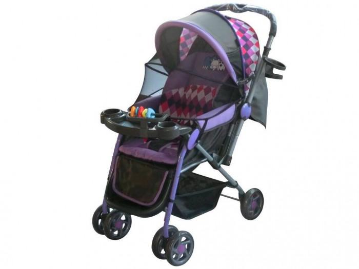 Прогулочная коляска Little King LK-216LK-216Прогулочная коляска LK-216  Коляска предназначена для малышей от 6 месяцев. Основными достоинствами модели являются надежность и высокое качество используемых материалов, простота и легкость конструкции, а также удобное и комфортное управление. Легкое алюминиевое шасси способствует значительному снижению веса коляски (всего 7 кг).  Особенности: 3 положения спинки (115; 150; включая горизонтальное 170 градусов) 5-ти точечный ремень безопасности с мягкими наплечниками Жесткая спинка с плавно регулируемым наклоном Облегченная алюминиевая рама Двойные плавающие передние колеса  Диски из ударопрочного и морозостойкого пластика Колеса из вспененной искусственной резины пеноплена с добавлением каучука, по асфальту не гремят Большая корзина для вещей до 3 кг Чехол на ножки Подножка регулируется в 2-х положениях Капюшон коляски имеет специальное окно для присмотра Столик - Подставка + игрушки Перекидная ручка Москитная сетка   Легко и компактно складывается (одной рукой) Для детей от 0,5 до 3-х лет (до 30 кг).  Характеристики: Максимальный допустимый вес ребенка 30 кг Механизм складывания книжка Количество колес 6 Размер упаковки 64 х 44 х 17 см Вес 8 кг<br>