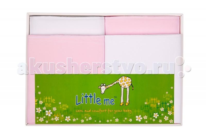 Пеленка Little me Комплект из 4 пеленок