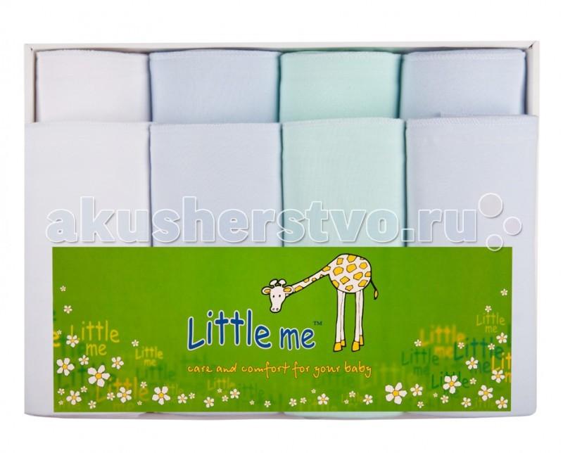 Пеленка Little me Комплект из 8-ми пеленок