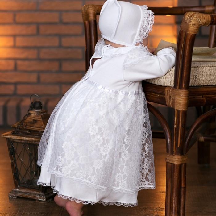 Little People Крестильное платье и чепчик 11241
