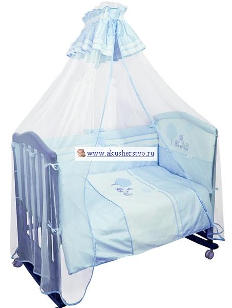 Бампер для кроватки Сонный гномик Ля-ля-ля 120х60 от Акушерство