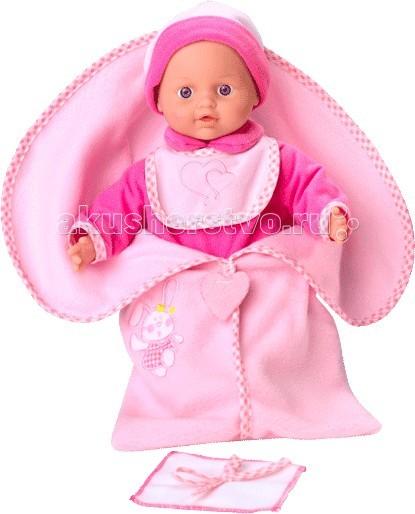 Loko Toys Кукла Tiny Baby 30 см с конвертом для новорожденныхКукла Tiny Baby 30 см с конвертом для новорожденныхЗамечательный пупс с мягким телом Loko Toys доставит массу удовольствия от игры вашему ребенку. Если нажать на животик, то пупс заплачет. Игры с такой куклой будут развивать воображение ребенка, воспитывать такие черты характера, как внимательность, ответственность и умение выстраивать логические цепочки. Размер упаковки 30 х 45 х 10 см Возраст: от 10 месяцев Размер: 30 см Игрушка выполнена из безопасных для малышей материалов. Для работы необходимы 3 батарейки LR44 (входят в комплект). Комплектация: Пупс Конверт Слюнявчик<br>