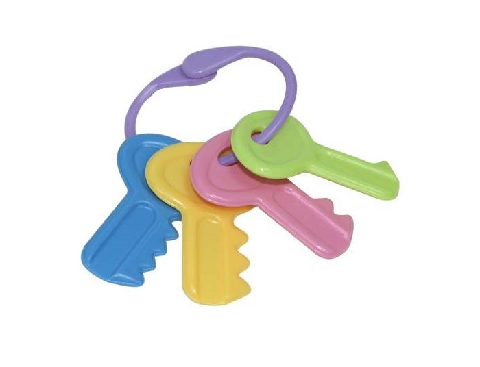 Прорезыватель Lubby Ключи