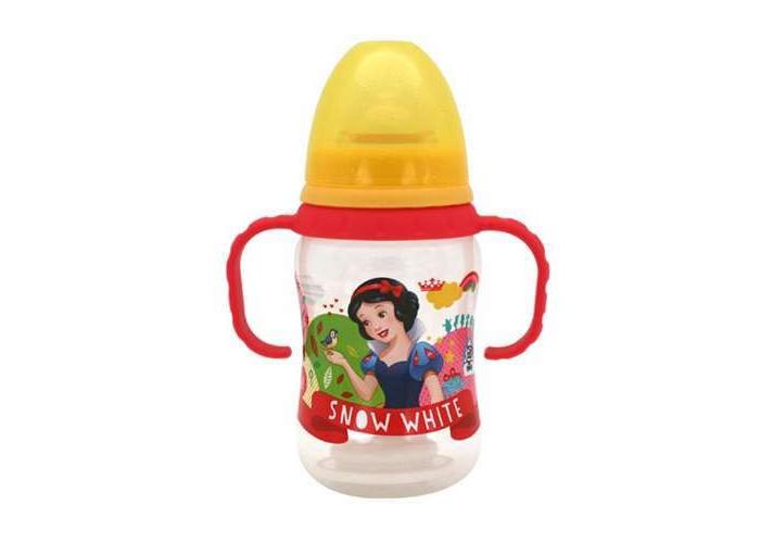 Бутылочка Lubby Disney Принцессы с силиконовой соской 250 мл