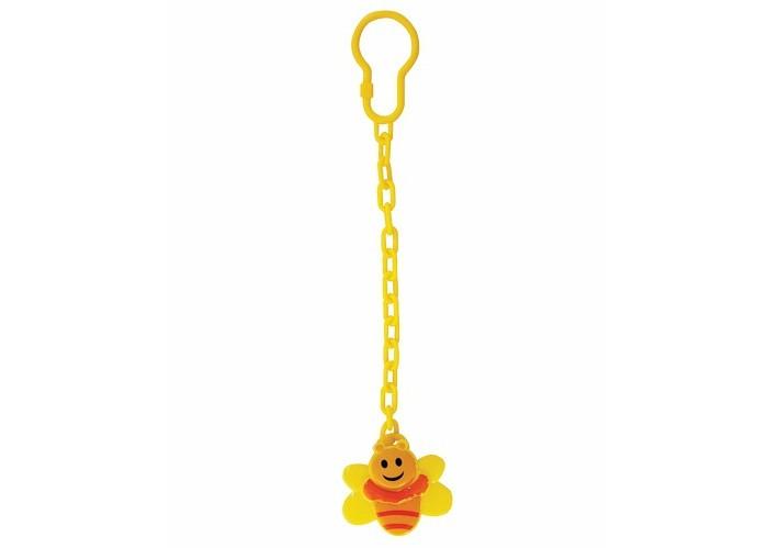 Lubby Клипса для соски - пустышки Пчелка