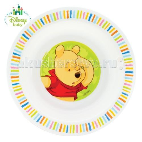 Lubby Тарелка Медвежонок ВинниТарелка Медвежонок ВинниLubby Тарелка Медвежонок Винни с любимым героем на дне побуждает малыша доесть до конца и превращает прием пищи в игру.  Тарелка незаменима в период, когда Ваш малыш учится есть самостоятельно. Красочный рисунок с любимым героем на дне побуждает малыша доесть до конца и превращает прием пищи в игру.  Состав: полипропилен (РР) Срок службы: 1 год Размер: 17,5*3 см. Размер единичной упаковки (ДхШхВ) : 45 X 210 X 177 Тип упаковки: хедер<br>