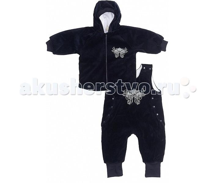 Lucky Child Из велюра на синтепоне куртка и полукомбинезон 5-5