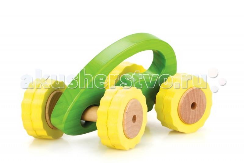 Деревянная игрушка Lucy &amp; Leo Машина Роли-Поли LL106 - Lucy &amp; LeoМашина Роли-Поли LL106Lucy & Leo Деревянная игрушка Машина Роли-Поли LL106.  Гонки с препятствиями – что может быть интереснее для активного малыша! С игрушечными машинками из серии Roly-Polly ваш ребенок сможет исследовать окружающий мир в увлекательной игре. Машинка имеет отличное сцепление с любой поверхностью, удобную ручку для малыша и специальную конструкцию для любых поворотов.  Машинки выполнены из качественных материалов по Европейским стандартам и покрыты специальной краской на водной основе, которая абсолютно безопасна для вашего малыша. Мы используем только экологически чистую Новозеландскую сосну и гипоаллергеный мягкий полимер для производства наших игрушек.<br>