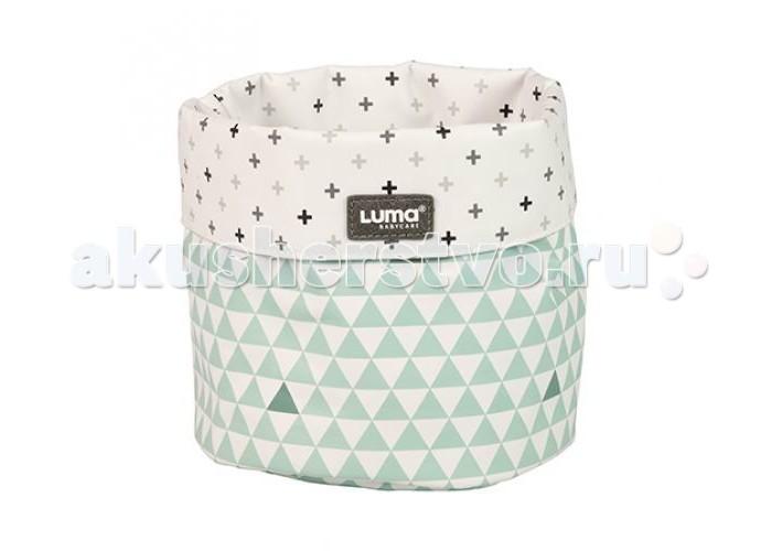 Luma Корзинка в ванную комнатуКорзинка в ванную комнатуСтильная корзинка Luma украсит ванную комнату.   Имеет округлую форму и нежный рисунок.   Предназначена для хранения гигиенических принадлежностей – расчесок, щеток, маникюрных ножниц.   Практична и легко моется.  Размер 26х18х12 см.  Luma - это аксессуары для детской гигиены, которые отличаются не только удобством и функциональностью, но и лаконичным стильным дизайном. Бренд Luma родом из Голландии, поэтому вся продукция изготовлена в соответствии с самыми строгими стандартами качества и абсолютно безопасна для ребенка.  Все предметы выполнены сериями в едином стилевом решении, что позволяет вам выбрать дизайн в зависимости от своего вкуса и интерьера.<br>