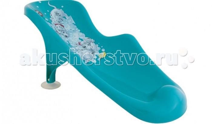Idea (М-Пластика) Горка для купанияГорка для купанияПластиковая горка в ванну на присосках: Удобная горка для купания Вашего малыша, сделана из высококачественного, легкого и прочного пластика. Не дает соскальзывать, приспособлена для детской ванночки. Имеет веселый рисунок на спинке. Все сделано для того, чтобы освободить мамины руки и дать возможность насладиться от процесса купания не только малышу, но и его родителям.  Размер горки: 240x190x530 мм<br>
