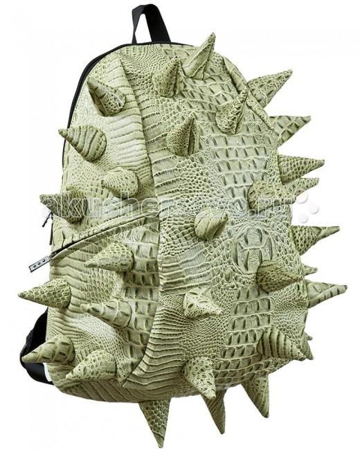 MadPax Рюкзак Gator FullРюкзак Gator FullРюкзак Gator Full MadPax  Стильный и практичный рюкзак, уместный в ритме большого города.   Основное отделение закрывается на молнию. Внутри изделия есть отделение для ноутбука с максимальным размером диагонали 17 дюймов. По бокам - два дополнительных кармана на молнии.   Модель помимо лямки для переноски в руке, мягких и широких регулируемых бретелей снабжена фиксацией на груди.   Полностью вентилируемая и ортопедическая спинка создаёт дополнительный комфорт Вашей спине.  Материал - 100% поливинил  Размер - 46х35х20 см  Появление этой аксессуарной марки взорвало мир моды! Рюкзаки от MadPax поистине созданы для ярких неординарных личностей. Если вы хотите, чтобы вы сами или ваш ребенок выделялись из толпы, если для вас важно подчеркнуть активную жизненную позицию, тогда этот бренд – для вас! Рюкзаки MadPax подходят как детям, так и взрослым. Коллекции MadPax – это рюкзаки с шипами, пузырями или фантазийными дорожками, напоминающими о тетрисе. Для производства этих уникальных вещей используются самые передовые полимерные материалы. Можете быть спокойны – продукция проходит тщательный контроль качества, а шипы и пузыри мягкие на ощупь.<br>