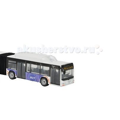 Majorette Городской автобусГородской автобусГородской автобус Majorette станет прекрасным подароком для мальчика.  Автобус от компании Majorette не только развлечение для Вашего ребенка, это еще прекрасная коллекционная модель, с ним можно играть, а можно и коллекционировать, ведь Городской автобус представлен в ассортименте.  Городской автобус упакован в яркую коробку, мимо которой трудно пройти. Автобус инерционный - играя с автобусом, ваш малыш может откатить его назад и отпустив, наблюдать, как городской автобус отправится в свой рейс.   Особенности:    Корпус автобуса выполнен из металла, который соответствует всем нормам безопасности.  Колеса автобуса сделаны из прочной резины, при игре не гремят и не царапают пол.  Имеется фигурка водителя, которая не вытаскивается.  Боковые зеркала на резиновых держателях (зеркальная поверхность безопасна).  Имеются сиденья для пассажиров.  Городской автобус состоит из двух частей, которые соединены между собой гармошкой.   Размер автобуса: 18,5 см. Материал: пластмасса, металл, резина. Вес: 500гр. Размер упаковки: 3,2 x 23,9 x 10,5 см.<br>
