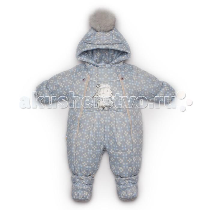 Malek Baby Комбинезон-трансформер Клетка 637ш