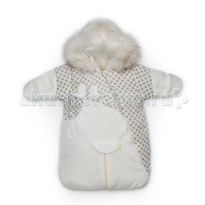 Malek Baby Конверт-трансформер 515шКонверт-трансформер 515шТеплый зимний конверт-трансформер Malek Baby для новорожденного.  Подкладка из натуральной овечьей шерсти. Превращение конверта в подобие комбинезона обеспечивает удобную фиксацию ребенка ремнем безопасности в детском автокресле (автолюльке).  У трансформера длинная молния по диагонали. Это позволит легко одеть малыша. На рукавах манжет-отворот, которым можно закрыть ручки ребенку. Опушка из натурального меха - песец. Есть возможность отстегнуть.  Конверт из овечьей шерсти - это лучшее, что можно придумать для вашего младенца.  Рекомендуемый температурный режим до -30 градусов. Овечья шерсть согреет малыша в зимнюю непогоду. Она обладает лечебными и успокаивающими свойствами, что благотворно влияет на самочувствие детей. Конверт Российского производства. Сертифицирован. Верх конверта - 100% полиэстер Наполнитель - синтепон 150 г. Подкладка - 50% овечья шерсть меринос, 50% полиэстер  Уход: Бережная стирка при 30 градусах.<br>