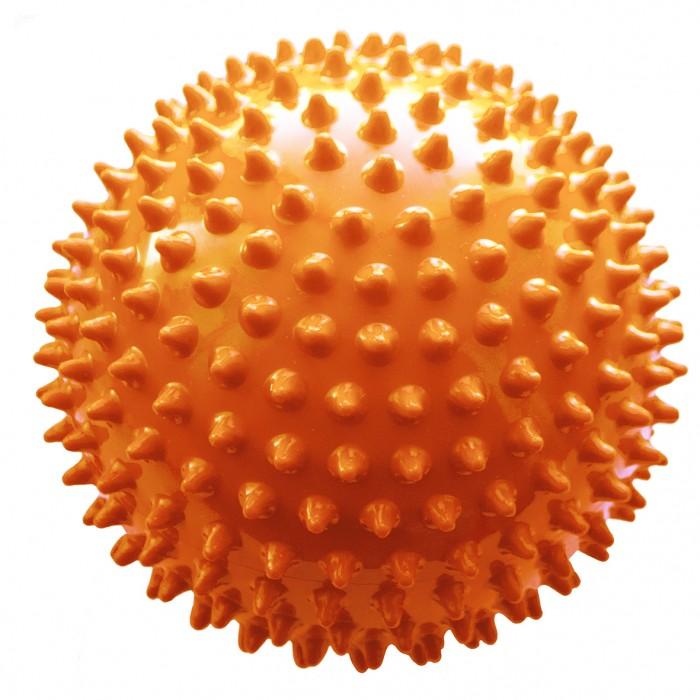 МалышОК Мяч ежик большой 18 см в сетке