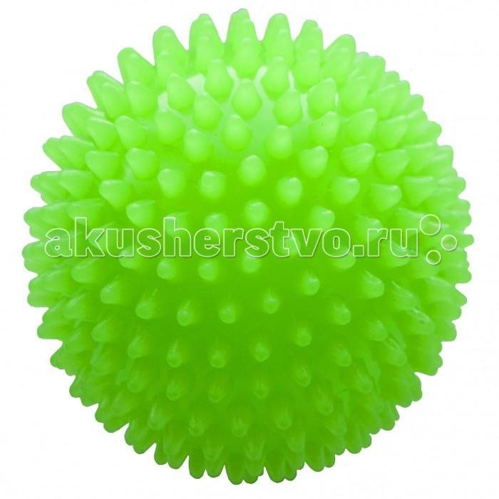 МалышОК Мяч Ежик средний 12 см