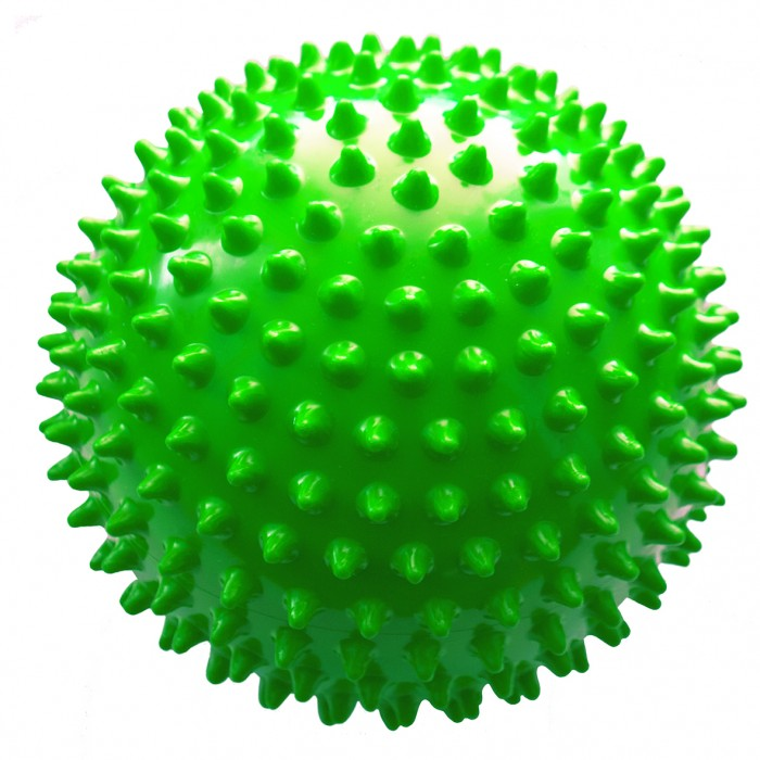 МалышОК Мяч Ежик средний 12 см в сетке