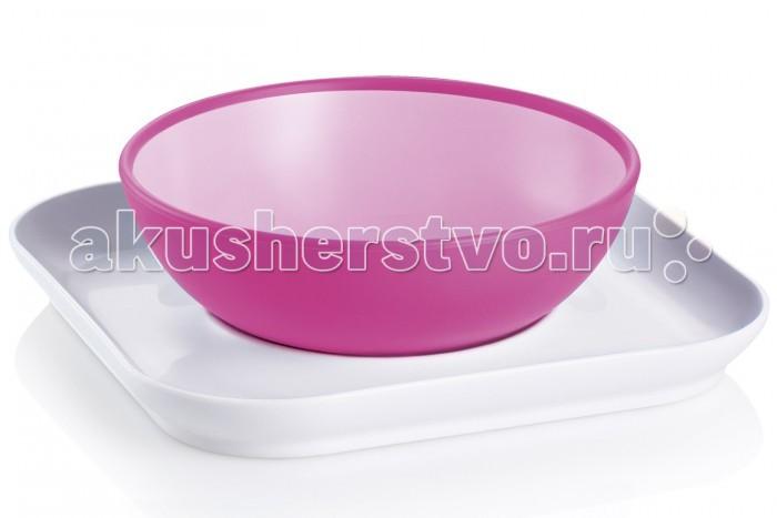 MAM Набор тарелок Baby's bowl& plate 6+