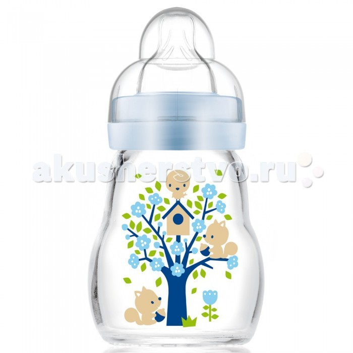 Бутылочка MAM Feel Good Bottle стекло Anti-Colic 170 млFeel Good Bottle стекло Anti-Colic 170 млС бутылочкой Anti-Colic даже новорожденный малыш чувствует себя прекрасно.   Стеклянная бутылочка MAM Feel Good изготавливается из термостойкого стекла класса премиум: так что ее можно нагревать без опасений, она быстро охлаждается, ее можно мыть в посудомоечной машине и стерилизовать при высокой температуре.  На задней части бутылочки имеется отчетливая шкала, позволяющая производить точное дозирование.  Ее можно в любой момент простерилизовать в микроволновой печи – быстро и без дополнительного стерилизатора. Для этого достаточно налить чуть-чуть воды, поставить в микроволновую печь на несколько минут. И всё – бутылочка стерильно чиста!  Специалисты MAM разработали соску, с которой переключение между мамой и МАМ происходит особенно легко. Потому что она осязается как шелковисто-мягкая и приятная, нет ничего лучше ее после мамы. В этом и заключается уникальность MAM Silk Teat®.  Эргономичная форма – бутылочку удобно держать. Очень широкое отверстие – в бутылочку легко наливать жидкость, ее удобно чистить. MAM Silk Teat® – шелковисто-мягкая поверхность, удобство в использовании.<br>