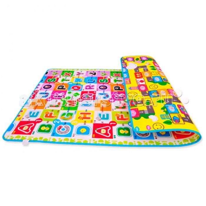 Игровой коврик Mambobaby Головоломка и Мир букв