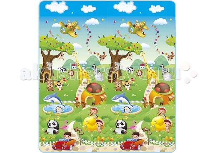 Игровой коврик Mambobaby Прогулка по Зоопарку
