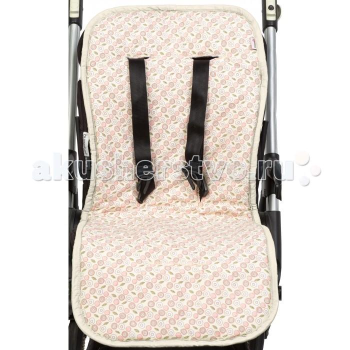 Mammie Хлопковый матрасик в коляску и автокресло