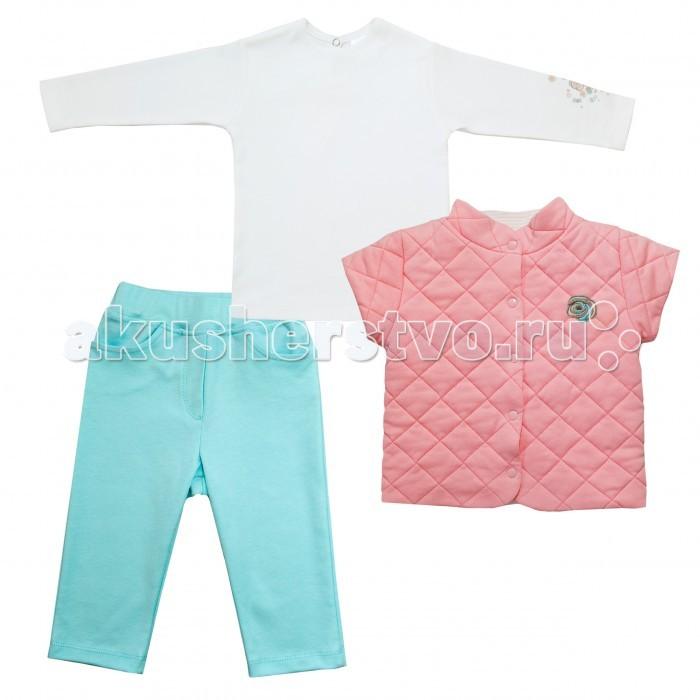 Мамуляндия Комплект (жилет, брюки, водолазка) Скарлетт 16-2020