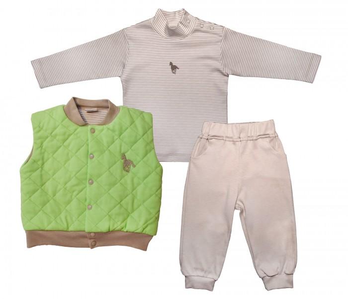 Мамуляндия Комплект (жилет, водолазка, брюки) Поло 16-1020