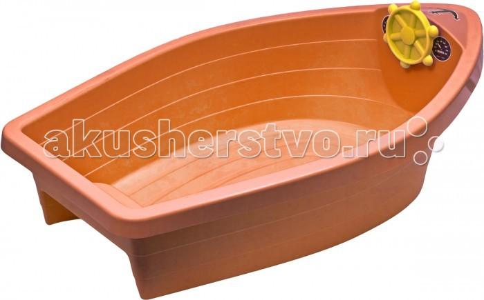 Palplay (Marian Plast) Песочница-бассейн Лодочка пластик