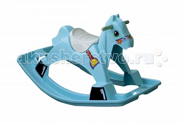 Качалка Palplay (Marian Plast) ЛошадкаЛошадкаКачалка Лошадка - яркая, прочная и безопасная игрушка для Вашего малыша. Она будет радовать Вашего ребенка как дома, так и на даче.  Длина - 90.5 см Ширина - 58 см Высота - 53.5 см  Вес - 2 кг<br>
