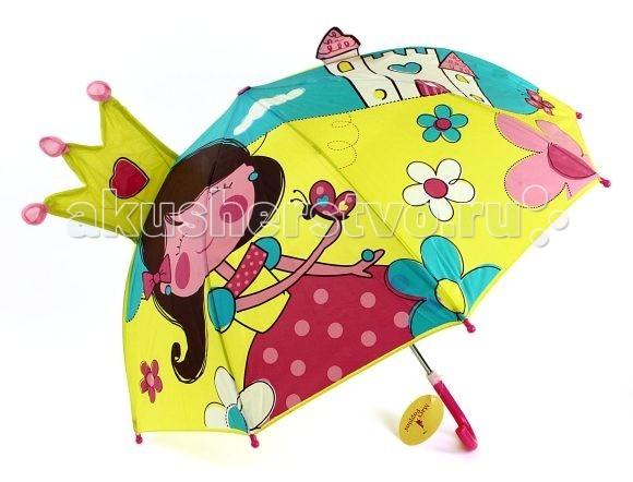 Детский зонтик Mary Poppins фигурный 46 смфигурный 46 смДетский зонтик Mary Poppins с яркими изображениями понравится каждому ребенку.   Он надежно защитит ребенка от дождя и снега.   Зонт легко раскрывается одним нажатием кнопки и складывается вручную.   Для максимальной безопасности на кончиках спиц расположены круглые наконечники.  Выполнен из водонепроницаемой ткани.  Диаметр зонтика 46 см.<br>