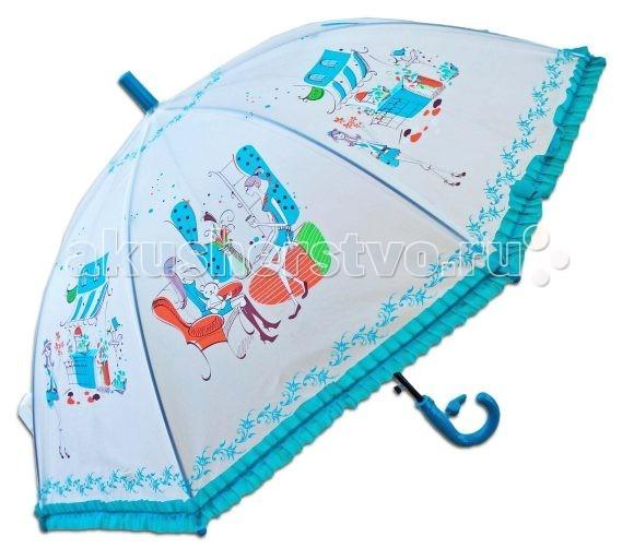 Детский зонтик Mary Poppins Модница 55 см со свистком