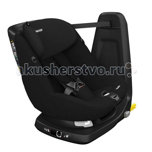Автокресло Maxi-Cosi Axiss FixAxiss FixДетское автокресло Maxi-Cosi Axiss Fix подходит для детей от 4 месяцев до 4 лет, изготовлен с уникальным сидением и новейшими стандартами безопасности. Теперь сидение вращается на 360 градусов для максимального комфорта малыша.   Автокресло Maxi-Cosi модели Axiss Fix выполнен с высоким повышенной безопасности подголовником, благодаря высокоэффективным ударо-поглощающим материалам. Крепление IsoFix позволит легко и безопасно установить детское автокресло в автомобиле, на заднем сидении.  Также детское кресло от производителя Maxi-Cosi Axiss Fix полностью соответствует европейскому стандарту ECE-R44/04, а визуальные индикаторы базы позволят правильно его установить.   Комфортное, мягкое и абсолютно безопасное автокресло Maxi-Cosi Axiss Fix очень понравится Вашему малышу.  Характеристики: Детское автокресло относится к группе 1 от 5 до 18 кг; Автокресло Axiss Fix имеет 7 положений подголовника; Также у детского кресла Maxi-Cosi 4 наклона спинки; При настройке подголовника 5-ти точечные ремни безопасности с мягкими накладками движутся вместе с ним; Для максимальной защиты Maxi-Cosi выпустили модель Axiss Fix с подголовником повышенной безопасностью при боковых ударах; Автокресло Axiss Fix до 24 месяцев устанавливается против движения, с 24 месяцев по ходу движения; Система IsoFix детского автомобильного кресла идет с верхним тросом для легкого монтажа кресла в автомобиле; Имеет съемный гипоаллергенный чехол, который очень легко стирать.  Размеры: 27.5 х 25 х 59 см.  Размеры с базой IsoFix: 55 х 44.5 х 65 см.  Вес: 12.4 кг.<br>