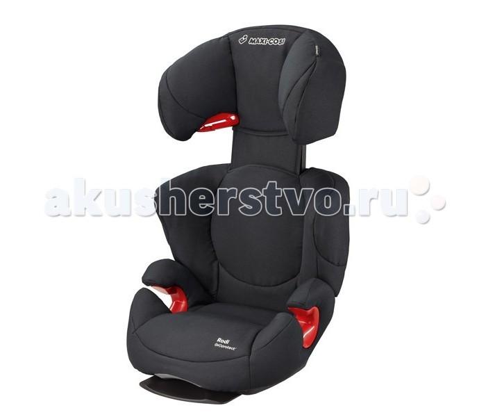 Автокресло Maxi-Cosi Rodi Air ProRodi Air ProПобедитель краш-теста немецкого клуба ADAC в 2010 году (в группе 2/3)  Имеет дополнительные вставки (Air Protect - воздушные подушки) в подголовник обеспечивающие еще большую безопасность. Модернизированная версия кресла Rodi XR. Имеет дополнительные вставки в подголовник обеспечивающие еще большую безопасность. Кроме этого, имеет независимую регулировку наклона спинки сидения, а так же регулировку высоты.   Разработано для детей от 15 до 36 кг (возрастом примерно от 3,5 до 12 лет)  Крепится в автомобиле 3-х точечным штатным ремнём безопасности.  Благодаря отклоняющейся спинке и удобной основе автокресло можно перевести в положение комфортного отдыха.  Подголовник у модели Maxi-Cosi Rodi AP легко регулируется и имеет 8 фиксируемых положений, при этом высота спинки увеличивается до 16 см.  Усиленная боковая защита, и максимальная защита головы (Air Protect - воздушная защита). Благодаря специальному подголовнику с дополнительными воздушными карманами обеспечивается защита и сокращается риск серьезных повреждений головы и шеи как маленьких, так и высоких детей.  Спинка регулируется по ширине.  Специальная скоба в районе подголовника служит дополнительным креплением кресла в машине.Данное приспособление позволяет избежать скольжения кресла из стороны в сторону даже при совершении резких поворотов автомобиля.  Съёмные чехлы легко стираются при t 30°C , в режиме деликатной стирки.  Соответствует Европейскому стандарту безопасности ЕСЕ R44/04.   Вес 5,1 кг.<br>