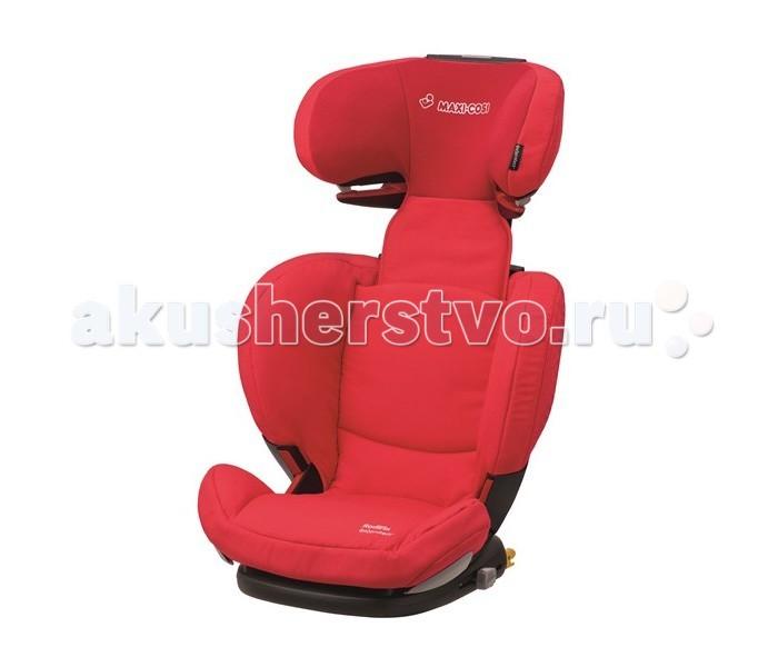 Автокресло Maxi-Cosi Rodi FixRodi FixАвтокресло Maxi-Cosi Rodi Fix оснащено разъемами IsoFix для большей устойчивости в автомобиле и не имеет собственных ремней безопасности, ребенок пристегнут штатным ремнем, специальные направляющие ремней находятся на подголовнике и в области бедер.   Устанавливается исключительно по ходу движения автомобиля на заднем сиденье.  Кресло стало более глубоким, что позволяет усадить ребенка глубже и тем самым увеличить уровень пассивной безопасности. Высокие подлокотники дополнительно поддерживают ребенка в поворотах. Для обеспечения оптимального пролегания кресла к сиденью автомобиля, спинка кресла имеет регулировку угла наклона. В этой модели Вы можете регулировать спинку и по ширине.   Подголовник легко регулируется по высоте под рост ребенка, увеличивая высоту спинки до 16 сантиметров, имеет 8 фиксируемых положений. Модель отличается наличием уникальной системы защиты области головы, что достигнуто благодаря подголовнику, выполненному по технологии Air Protect, то есть «воздушные подушки». Это обеспечивает погашение ударной волны при резком торможении машины или при столкновениях. Разнообразные регулировки позволяют, чтобы Ваш ребенок на протяжении всего срока использования автокресла будет путешествовать с комфортом.  Характеристики Материал: прочный каркас, чехол из гипоаллергенного материала (не удерживает посторонние запахи, не воспламеняется, хорошо поглощает влагу).  Съемная обивка легко стирается при температуре 30 C Подголовник регулируется по высоте (8 положений), широкие и удобные боковины Боковая защита «Air Protect» - воздушная защита, мягкие вкладыши в боковинах подголовника Крепление в автомобиле - По ходу движения; оснащено разъемами IsoFix  Размеры внешние (шхгхв) 48х46х66-83 см Ширина сиденья  27 см Высота спинки  от 32 до 52 см Вес  6,6 кг<br>