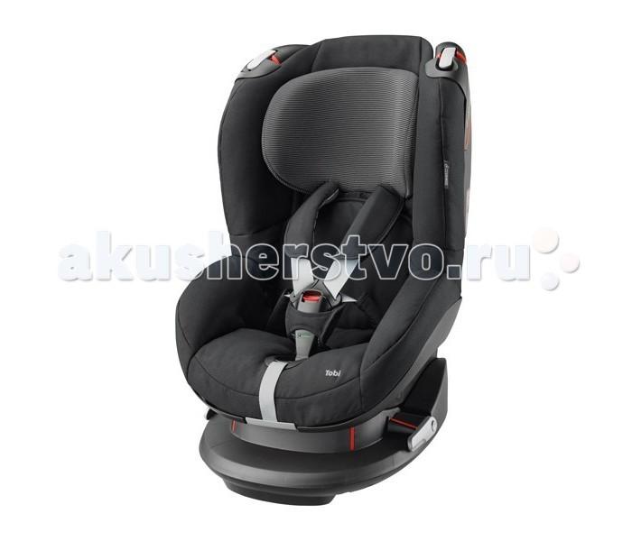 Автокресло Maxi-Cosi TobiTobiMaxi-Cosi Tobi - это универсальное детское автомобильное сидение для детей весом 9-18 кг. Его следует применять на сидениях, направленных вперед. Устанавливаться может при помощи системы трехполосного ремня безопасности.   Новаторские легкосъемные ремни; ремни и пряжки больше не мешают  Удобная регулировка подголовника и ремней спереди изделия одной рукой  Система боковой защиты обеспечивает оптимальную защиту от боковых ударов  Особо прочная установка в машине -> натяжные устройства для ремня безопасно удерживают автомобильное сидение  Цветовой индикатор для подтверждения правильного размещения ребенка  Головной ремень для дополнительной защиты головы  Ручка на пружине, изменяющая позицию от положения сидя до положения лежа (5 позиций)  Чехол легко снимается без открывания ремня через специальное отверстие в чехле  Подушки для ремня легко снимаются / устанавливаются  Простое управление ремней  Регулировка высоты подголовника спереди даже тогда, когда ребенок находится в сидении (7 позиций)  Возможность удлинить ремни безопасности одной рукой (не нажимая на кнопку)  Чехол легко снимается и моется (имеются запасные чехлы)  Вес: 8,9 кг<br>