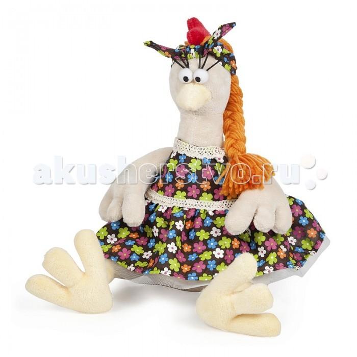 Мягкая игрушка Maxitoys Курочка в СарафанеКурочка в СарафанеКурочка в сарафане - забавная мягкая игрушка из искусственного мякгкого меха. На курочке одета милый, яркий сарафан, а глазки сделаны из пластмассы.  Игрушка имеет небольшой размер, что позволяет везде брать её с собой.   Такая игрушка, непременно станет любимой у ребенка.<br>