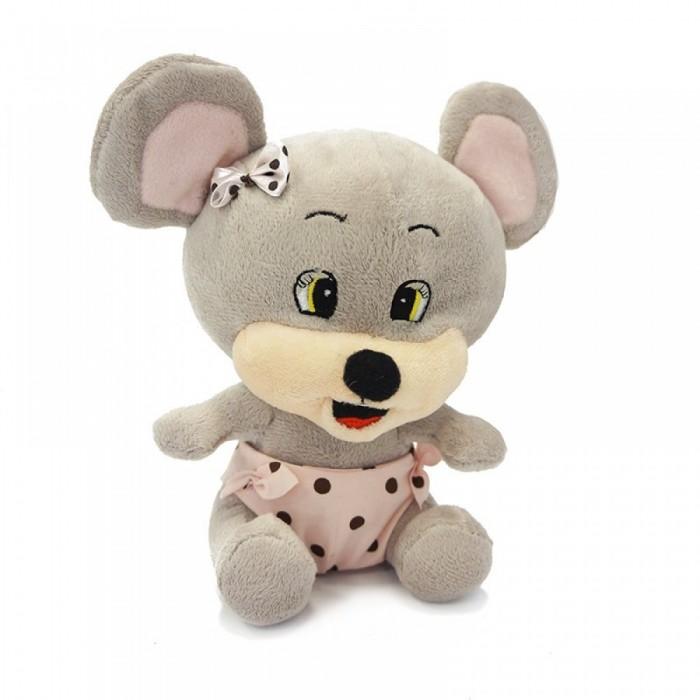 Мягкая игрушка Maxi Play Мышонок Чиппи 16 смМышонок Чиппи 16 смМягкая игрушка Maxi Play Мышонок Чиппи 16 см станет настоящим другом-игрушкой для вашего ребенка. Малыш сможет играть с бегемотом, брать его вместе с собой спать в кровать.   Особенности: Компактную и легкую игрушку малыш всегда сможет брать с собой на прогулку. Крепкие швы надежно удерживают набивку игрушки внутри.  Такой очаровательный добродушный мышонок окажется хорошим подарком не только детям, но и взрослым.<br>