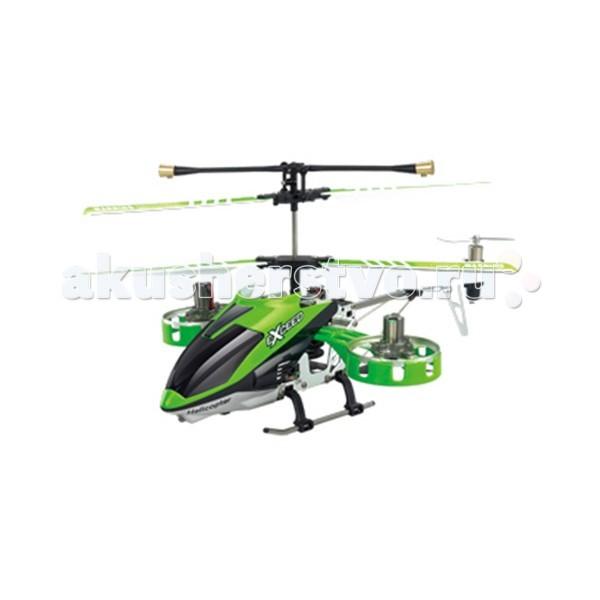 Maxitoys Радиоуправляемый вертолет I-Helicopter HC-777-167 19 см