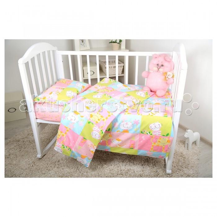 Постельное белье Baby Nice (ОТК) Котята (3 предмета) от Акушерство