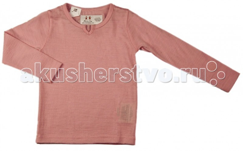 Merino Kids Рубашка с длинным рукавом 3-4 года
