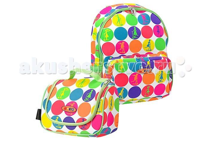 Micro Рюкзак + сумка для самокатов Maxi Rucksack & Lunchbag