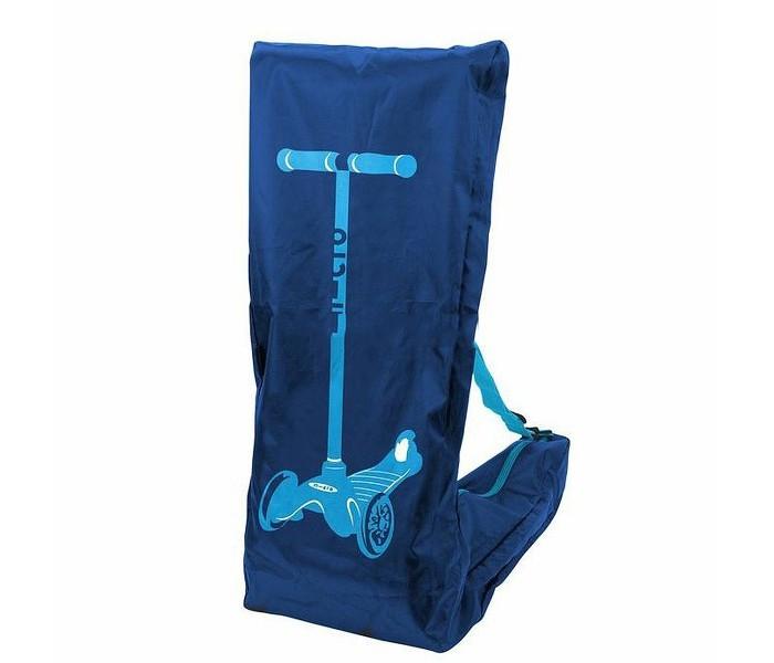 Micro Сумка-чехол для переноски самоката Carry coverСумка-чехол для переноски самоката Carry coverСумка-чехол предназначена для переноски самокатов Mini и Maxi Micro в собранном виде. Изделие снабжено качественной застежкой-молнией и ремнем, регулируемым по длине. Материя, из которой выполнена сумка, не пропускает влагу, пыль и отлично защищает находящийся внутри самокат от негативного внешнего воздействия.  Изделие выглядит строго и в то же время очень стильно. Это модный и полезный аксессуар, необходимый каждому кикбордисту.  Сумка-чехол позволяет носить самокат с собой везде – на улице и в общественном транспорте. Изделие легко складывается, при необходимости его можно свернуть и положить в карман куртки либо прикрепить к самокату специальным карабином.  Материал чехла устойчив к выгоранию, влаге, загрязнениям. При необходимости его можно стирать в мыльной воде, после стирки сумка очень быстро сохнет. Это изделие позволит не только легко транспортировать самокат в нужном направлении, но и предохранит его от пыли, влаги и загрязнений.<br>
