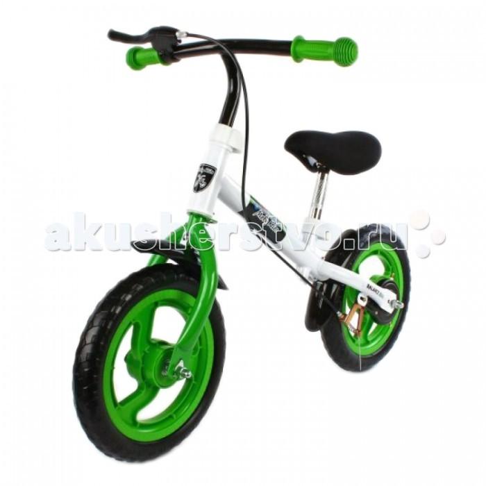 Беговел Moby Kids с ручным тормозомс ручным тормозомБеговел Moby Kids - популярная разновидность велосипеда без колес. Модель беговела Moby Kids рассчитана на детей от 3 лет и весом до 35 кг.   У беговела регулируемая высота руля и сиденья, металлическая прочная рама с большими колесами EVA. Велокат оснащен ручным тормозом и ограничителем поворота руля. Беговел тренирует ножки ребенка, развивает умение владеть своим телом и держать равновесие.  Особенности: Размер в собранном виде: (ДхВ) 86х56-60 см Регулируемая высота руля 56-60 см Регулируемая высота сиденья 37-46 см Рама - метал, диаметр 42 мм Ограничитель поворота руля для безопасности ребенка Колеса - EVA, 12 (30 см) Ручной тормоз Максимальная нагрузка 35 кг<br>
