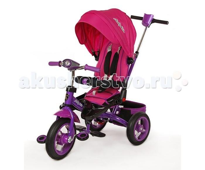 Велосипед трехколесный Moby Kids Leader-2 поворотное сиденье