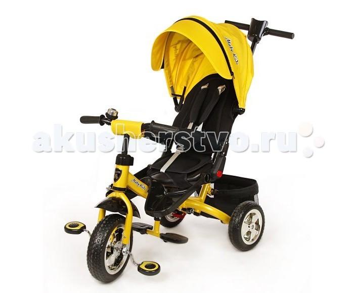 Велосипед трехколесный Moby Kids Leader поворотное сиденье