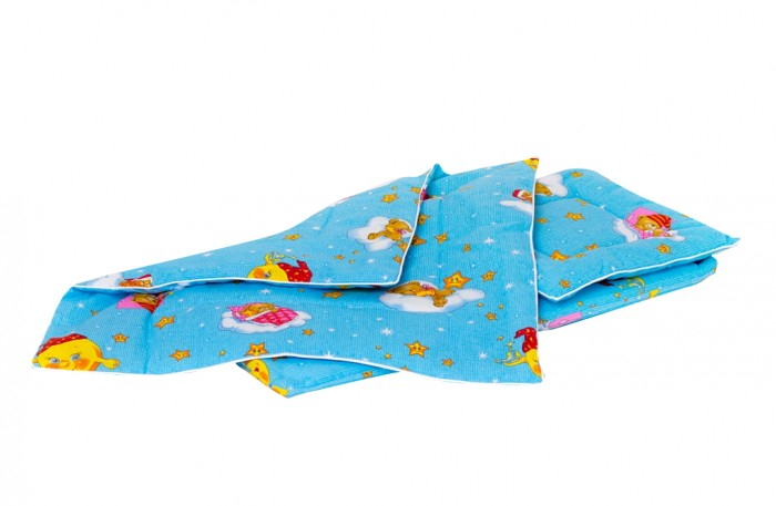 Мой Ангелочек Набор в коляску Облачко (3 предмета)Набор в коляску Облачко (3 предмета)Набор в коляску Облачко (3 предмета)   Состав: Матрас 40*80 см Подушка стёганая 40*40 см Одеяло стёганое 75*75 см  Характеристики: Ткань: бязь люкс российского производства Состав ткани: 100% хлопок Плотность ткани: 125 гр/м2 Наполнитель: термофайбер Состав наполнителя: 100% п/э Плотность наполнителя: 350 гр/м2 Декоративные элементы: кант Упаковка: пакет<br>