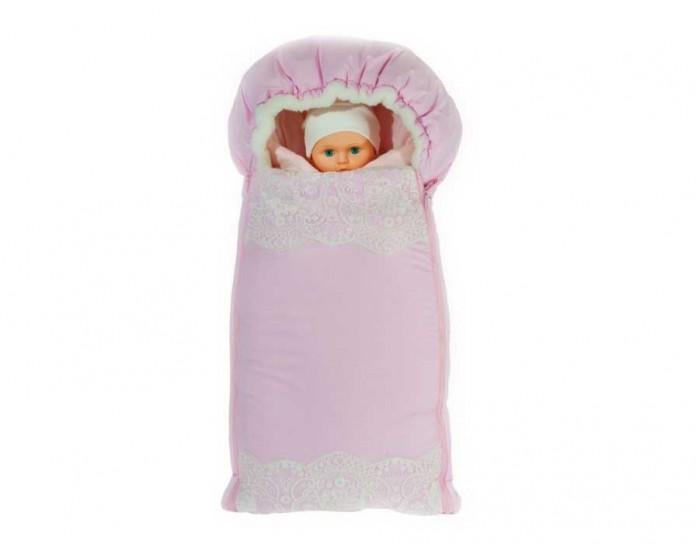Комплект на выписку Мой Ангелок М-2053 (6 предметов)М-2053 (6 предметов)Комплект для выписки малыша Мой ангелок М-2053 очень праздный и красивый, придаст событию особой торжественности. В набор входят только практичные и полезные элементы.  Конверт-одеяло выполнено из сатина и кружева. В разложенном виде его можно использовать как классическое одеяло Конверт прогулочный меховой согреет вашего кроху в прохладную погоду и прослужит долгое время Также в набор входит пеленка из интерлока А еще есть распашонка, ползунки и шапочка В качестве теплого мягкого наполнителя для одеяла используется файберпласт  Комплектация: конверт-одеяло (100х100 см), конверт меховой, пеленка, распашонка, ползунки, шапочка Состав: плащевая ткань, мех, сатин (100% хлопок), кружево, интерлок, стразы  Наполнитель файберпласт (гиппоалергенно) Допускается машинная стирка при 30-40 °С<br>