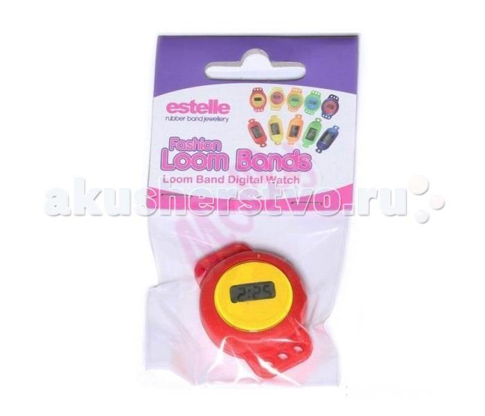 Molly Набор для плетения из резинок. Электронные наручные часы
